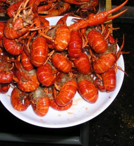 Grapplous crayfish in Hunan