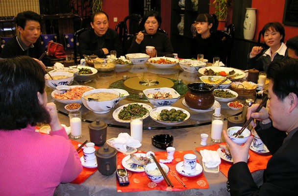 File picture of Chinese banquet